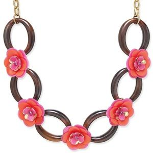 Coming soon🎀NWT Kate Spade tortoiseshell necklace